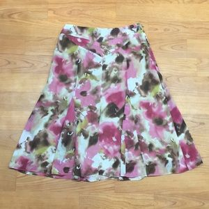 Jones Collection Floral Skirt